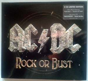 Rock Or Bust / Backtracks. Studio Rarities